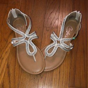 Candies women size 6 sandals